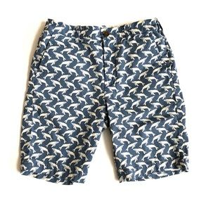 Crewcuts boys whale print shorts 12